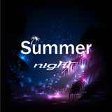 Summer night Stock Photos