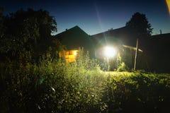 Summer night stock photos