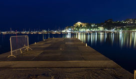 Summer night in rapallo italy Royalty Free Stock Photography