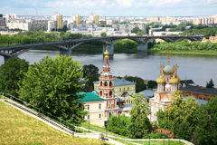 Summer Nizhny Novgorod Royalty Free Stock Photo