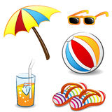Summer Objects Stock Photography
