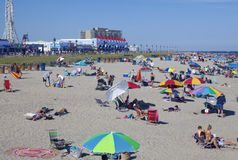 Summer in Ocean City, New Jersey Royalty Free Stock Photography