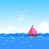 Summer with ocean Stock Photos