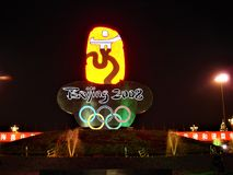 2008 Summer Olympic Games, Beijing, China royalty free stock photos