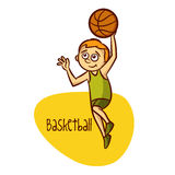 Summer Olympic Sports. Basketball Royalty Free Stock Photo