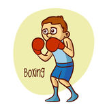 Summer Olympic Sports. Boxing Royalty Free Stock Images