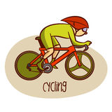 Summer Olympic Sports. Cycling Stock Photo