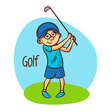Summer Olympic Sports. Golf Stock Image