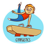 Summer Olympic Sports. Gymnastics Stock Photo