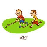 Summer Olympic Sports. Hockey Stock Photos