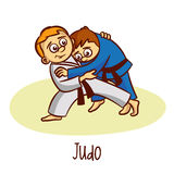 Summer Olympic Sports. Judo Royalty Free Stock Image