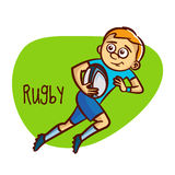 Summer Olympic Sports. Rugby Stock Image