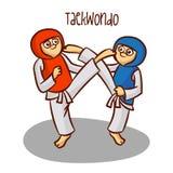 Summer Olympic Sports. Taekwondo Stock Photography