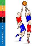 Summer Olympic volleyball 2 Royalty Free Stock Photo