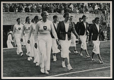1936 Summer Olympics Games Germany Stock Images