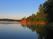 Summer On Jack Lake Stock Images
