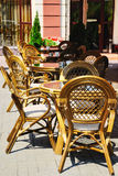 Summer open air cafe Royalty Free Stock Photography
