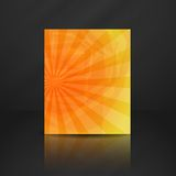 Summer Orange Banner. Stock Photos