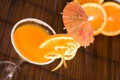 Summer oranges Stock Photos