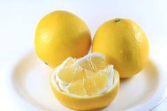 Summer oranges. Japanese summer oranges, Hyuganatsu, from Shikoku district Stock Image