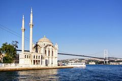 Summer at Ortakoy Stock Photography