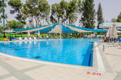 Summer outdoor pool Royalty Free Stock Photos