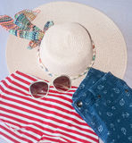 Summer outfit Stock Images