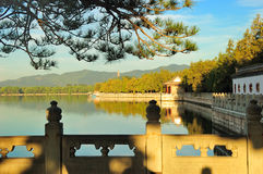The Summer Palace. Is  the most famous  emperor garden in china,it was created 400 years ago Stock Image