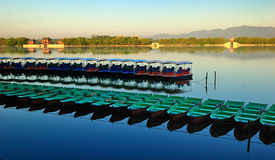 The Summer Palace. Is  the most famous  emperor garden in china,it was created 400 years ago Stock Photos