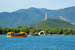 The Summer Palace. Is  the most famous  emperor garden in china,it was created 400 years ago Stock Photo