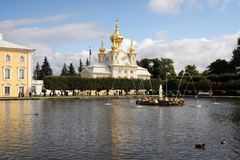 Summer Palace. In St PETERSBURG, Russia Royalty Free Stock Photos