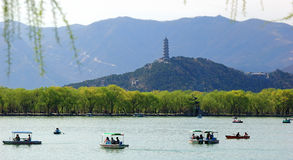 Summer Palace. The Summer Palace is  the most famous  emperor garden in china Royalty Free Stock Photos