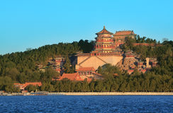 Summer palace. The summer palace in autumn Stock Images