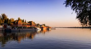 The Summer Palace. KunMing Lake in The Summer Palace in Beijing, China Royalty Free Stock Photo