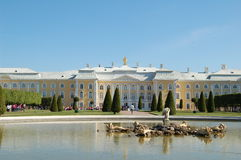 Summer palace. In St.Petersburg of Russia Royalty Free Stock Images