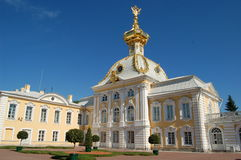 Summer palace. In St.Petersburg of Russia Stock Photography