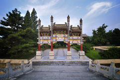 Summer Palace- Archway Royalty Free Stock Images