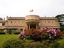 The summer palace Bao Dai in Dalat , Vietnam Stock Photos