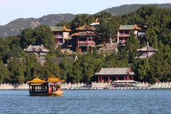 Summer palace in Beijing Royalty Free Stock Image