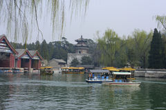 The Summer Palace in Beijing. The beauty of the Summer Palace Stock Image