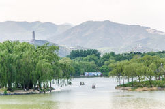 Summer Palace in beijing royalty free stock photo