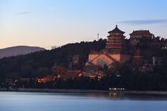 The Summer Palace in Beijing, China stock image