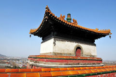 Summer Palace at Beijing, China. Chinese old building on the Longevity Hill in the Summer Palace, Beijing, China Stock Photo