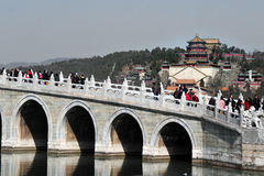 The Summer Palace in Beijing China Stock Image