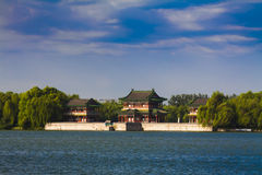 Summer palace beijing china. The summer palace beijing China in summer Stock Photo