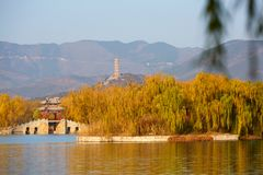The Summer Palace, Beijing, China stock image