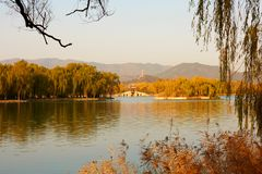 The Summer Palace, Beijing, China royalty free stock images
