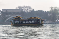 The summer palace beijing. BEIJING, CHINA-24th MARCH 2014:-The Summer palace was once the home for the Dragon Lady,Empress of China Royalty Free Stock Images