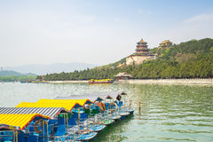 The Summer Palace in Beijing City, China.  royalty free stock image