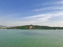 Summer Palace in Beijing. The Empirical Summer Palace in Beijing China royalty free stock images
